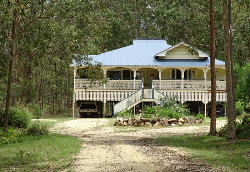 She's a big Hearted Queenslander on 9 acres