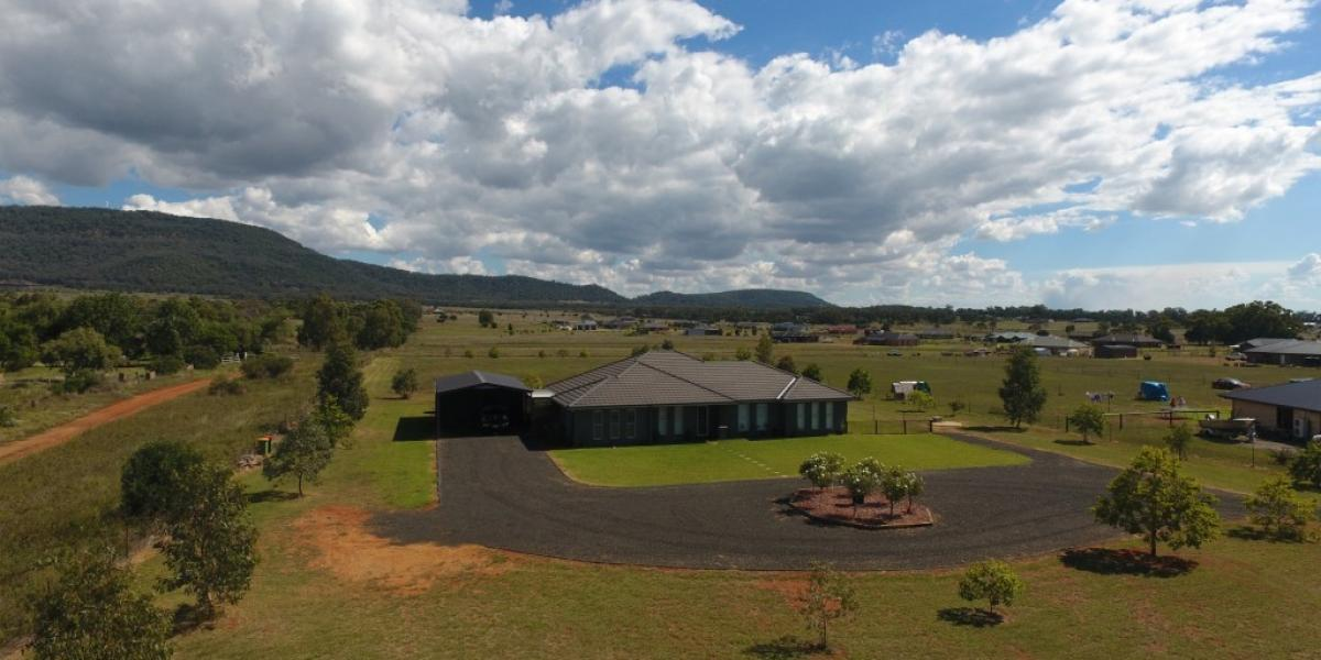 The perfect home on 2.5 acres