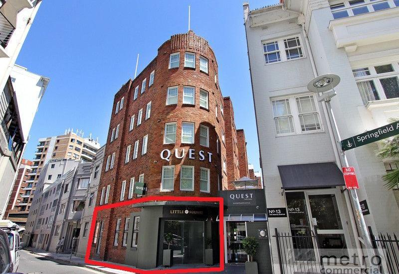 POTTS POINT RETAIL INVESTMENT WITH LIQUOR LICENSE